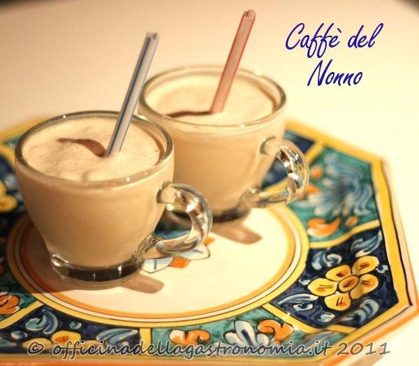 caffe del nonno with writing