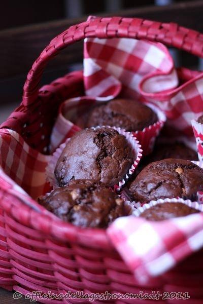 Triple-Choc Muffins (Muffins al Triplo Cioccolato)