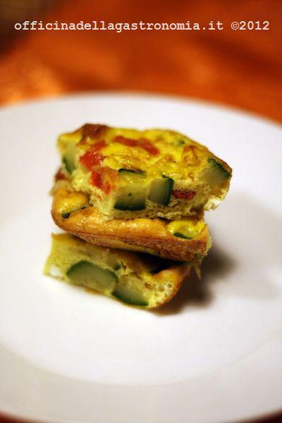 Frittata di Zucchine e Pomodorini al forno