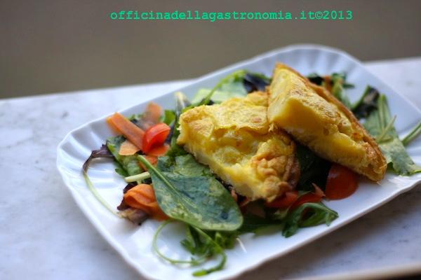 Tortilla di Patata allo Scalogno