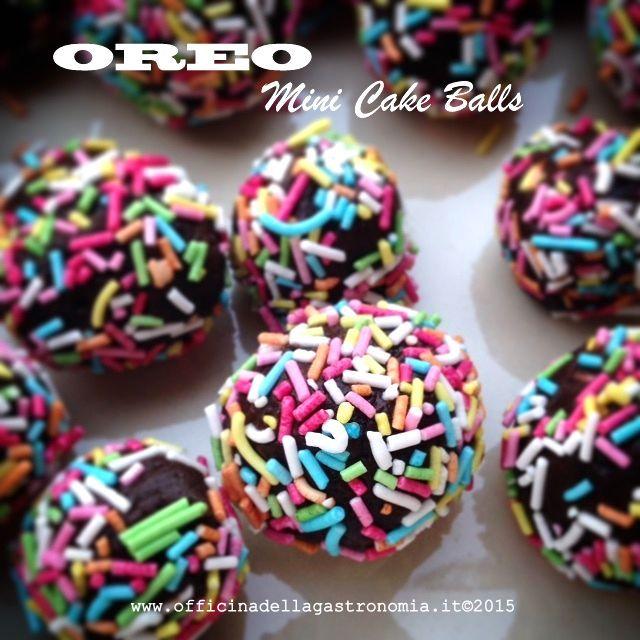 Oreo Mini Cake Balls