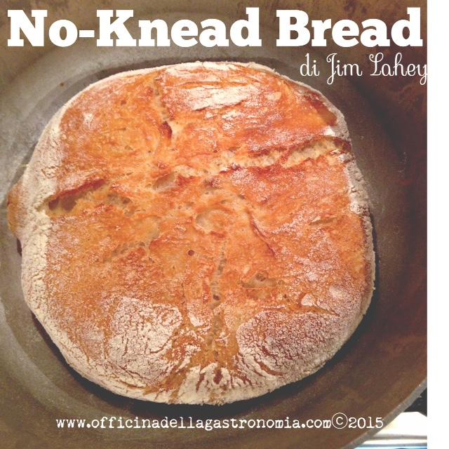 Pane senza impasto (No-Knead Bread) di Jim Lahey